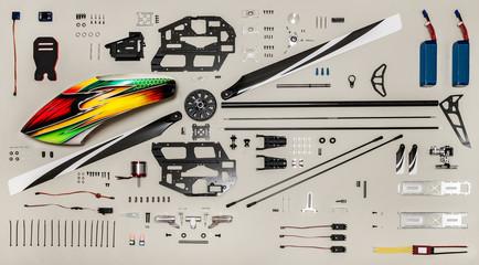 Rc model aircraft kit