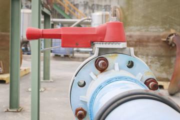 Red Handle valve