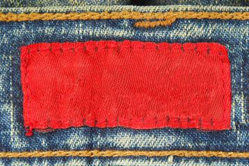 jeans denim label