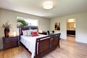 Bright furnished bedroom