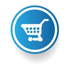 Shopping cart sign,vector