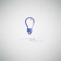 light bulb drawing,vector