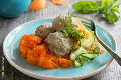 Фрикадельки с овощами рецепт с фото