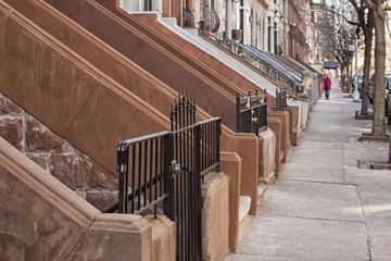 New york harlem buildings