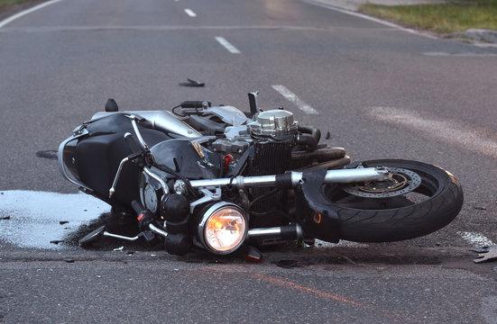 unfall mit motorrad
