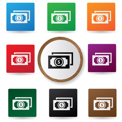Money sign,vector