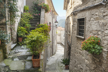 Fototapeta narrow alley