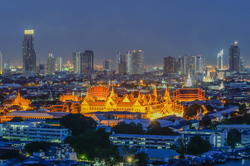 Poster Océanie Grand Palace in Bangkok