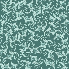 Vector background with floral elements