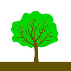 tree color vector