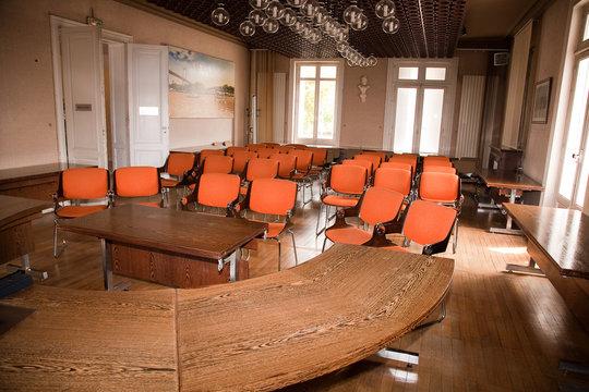 salle municipale de la mairie pour réunion ou événements