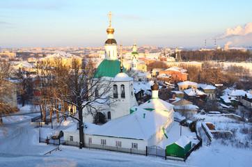 Вечерний Владимир зимой