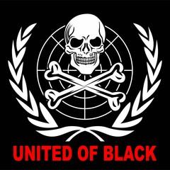 Skull United Vector