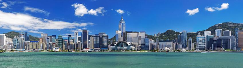 Hong Kong harbour at day Fotomurales