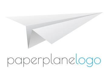 Paper airplane logo