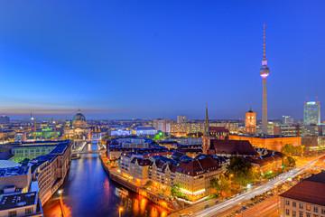 Photo sur Toile Berlin Berlin von oben