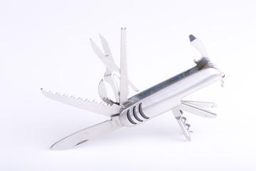metallic swiss army knife