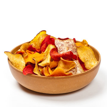 Organic Vegetable Chips with sea salt