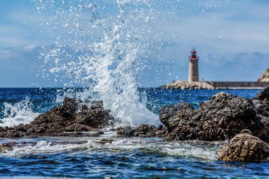Waves Crashing  - Port Andratx, Mallorca, Spain