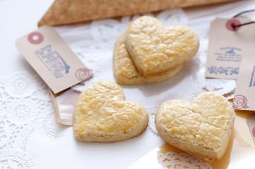 ハート形のクッキー