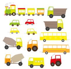 Pojazdy mechaniczne - zestaw