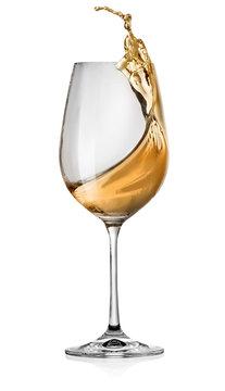 Splashes of white wine