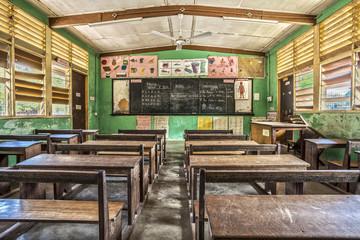 Photo sur Aluminium Afrique Classroom in Ghana, West Africa