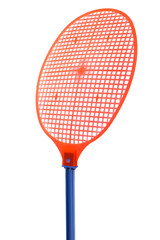 red fly swatter