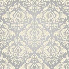 seamless damask wallpaper. background