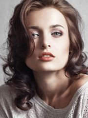 beautyful woman portrait