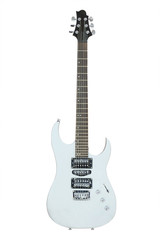 The image of an electric guitar
