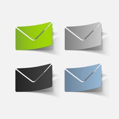 realistic design element: newsletter