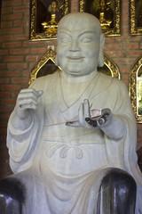 Buddha image in Bai Dinh temple near Ninh Binh, Vietnam