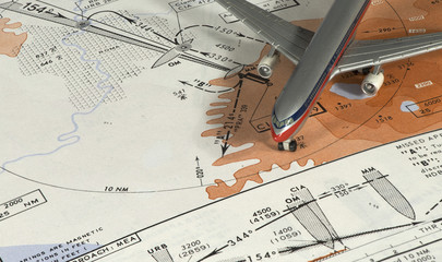 Aeronautical instrumental procedure chart