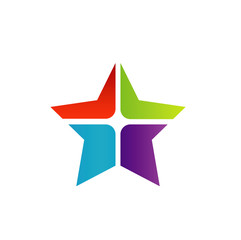 Colorful Star Business Logo