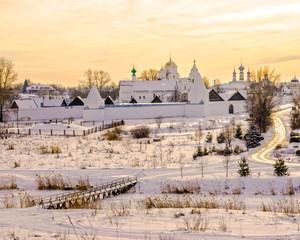 Pokrovsky Monastery in Suzdal. Russia