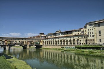 Fototapete - Architectural detail of Florence, summer season