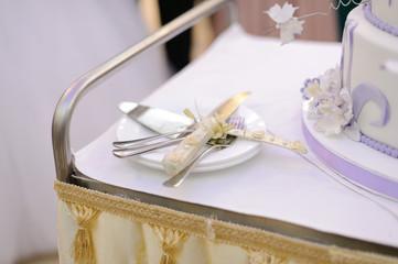 Knife for Wedding Cake