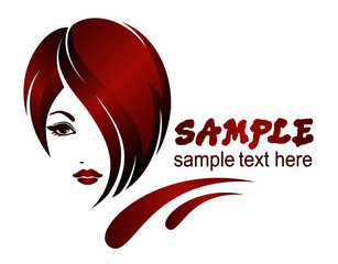 Banner template for beauty salon, hair styles, etc.