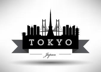 Modern Tokyo Skyline Design