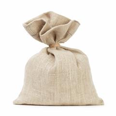 small sack bag full of something like money