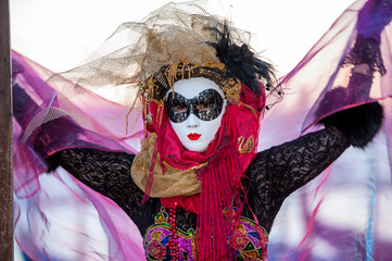 carnevale veneziano maschera 3148b