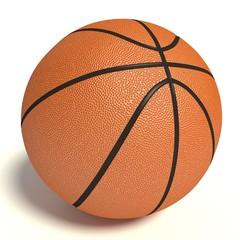 3d illustration of a basketball