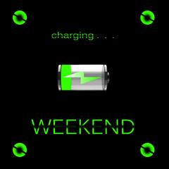 Weekend charging...