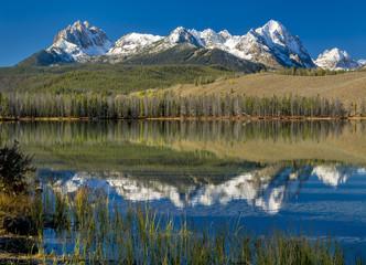 Beautiful Idaho mountain lake