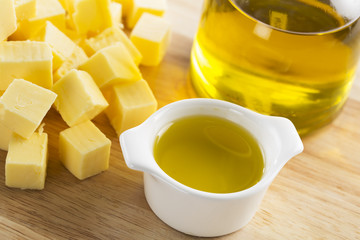Butter or Olive Oil
