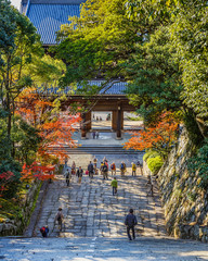 Stair at Chion-in Temple in Kyoto