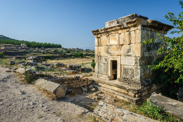 Ruins of Hierapolis, now Pamukkale
