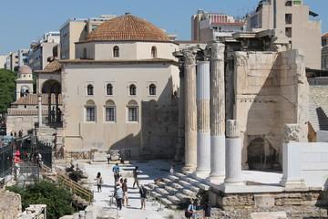 Griechenland Athen Hadrianstempel