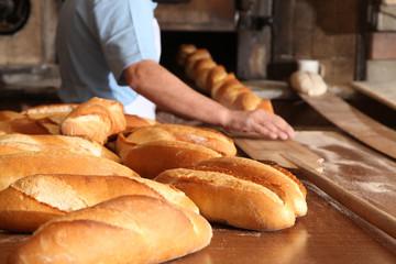 Deurstickers Bakkerij Bread